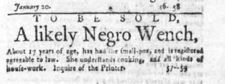 Age 17 Years Old. The Independent Gazetteer (Philadelphia) at 1 (Feb. 4, 1783)
